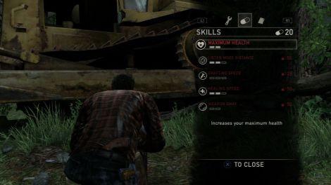 Pas aussi inutile que dans les Tomb Raider, l'aspect RPG de The Last Of Us reste sans grand intérêt